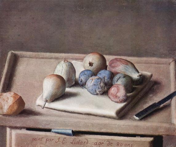 Nature morte - 1782
